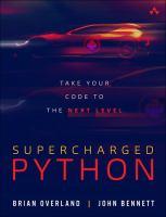Supercharged Python