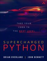 Supercharged Python