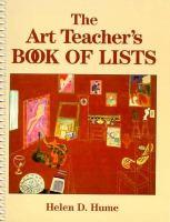 The Art Teacher's Book of Lists