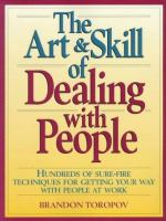 The Art & Skill of Dealing With People
