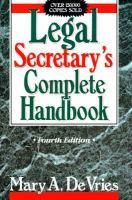 Legal Secretary's Complete Handbook