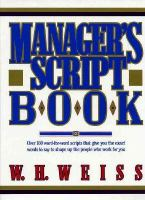Manager's Script Book