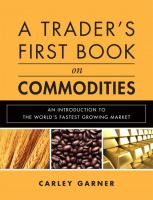 A Trader's First Book on Commodities