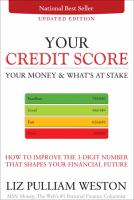 Your Credit Score, your Money & What's at Stake