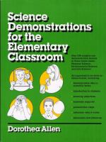 Science Demonstrations For The Elementary Classroom