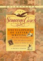 The Someone Cares Encyclopedia of Letter Writing