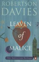 Leaven of Malice