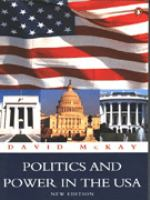 Politics and Power in the USA