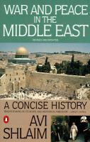 War and Peace in the Middle East