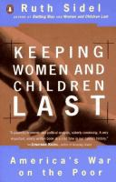 Keeping Women and Children Last