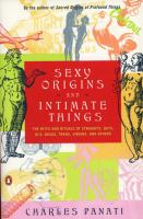 Sexy Origins and Intimate Things