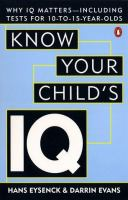 Know Your Child's IQ