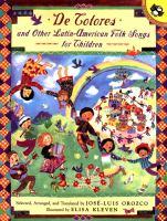 José-Luis Orozco canta De colores