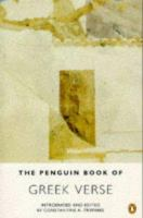 The Penguin Book of Greek Verse