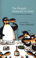 The Penguin Dictionary Of Jokes, Wisecracks, Quips, And Quotes