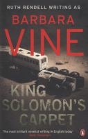 King Soloman's Carpet