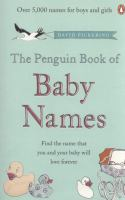 The Penguin Book of Baby Names