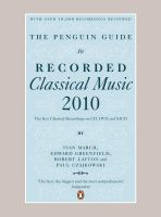 The Penguin Guide to Recorded Classical Music 2010