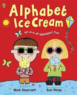"Book Cover - Alphabet Ice Cream"" title=""View this item in the library catalogue"