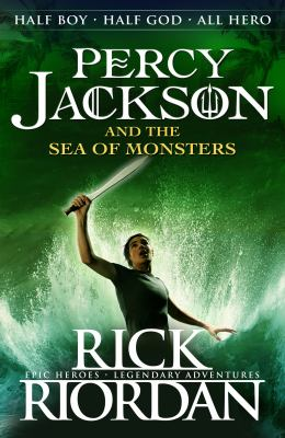 Cover image for Percy Jackson and the Sea of Monsters