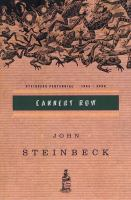Media Cover for Cannery Row