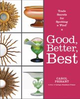 Good, Better, Best