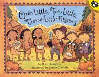 One Little Two Little Three Little Pilgrims book cover