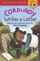 Corduroy Writes A Letter