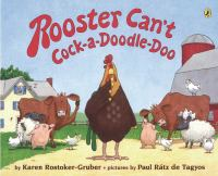 Rooster Can't Cock-a-doodle-doo