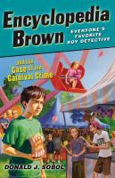 Encyclopedia Brown And The Case Of The Carnival Crime
