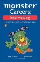 Monster Careers