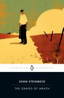 Grapes of Wrath by John Steinbeck (book cover)