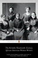 The Portable Nineteenth-century African American Women Writers