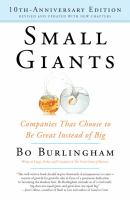 Small Giants [GRPL Small Bus. Book Club]