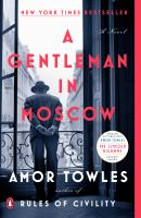 A Gentleman in Moscow (BOOK CLUB SET)