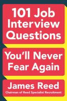 Image: 101 Job Interview Questions You'll Never Fear Again