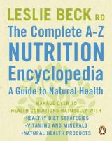 The Complete A-Z Nutrition Encyclopedia