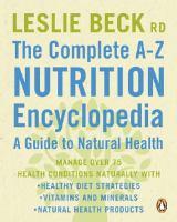 Complete A-Z Nutrition Encyclopedia
