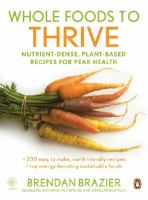 Whole Foods to Thrive