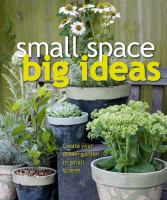 Small Space, Big Ideas