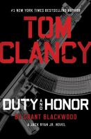 Tom Clancy. Duty and Honor