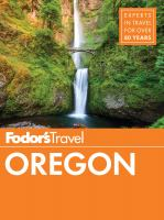 Fodor's Travel Oregon