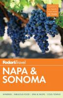 Fodor's Napa and Sonoma [2017]