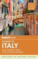 Fodor's Best of Italy