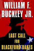 Last Call for Blackford Oakes