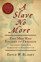 A Slave No More