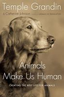 "Book cover for ""Animals Make Us Human"""