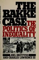 The Bakke Case