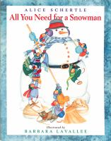 All You Need for a Snowman Book Cover