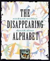 The Disappearing Alphabet